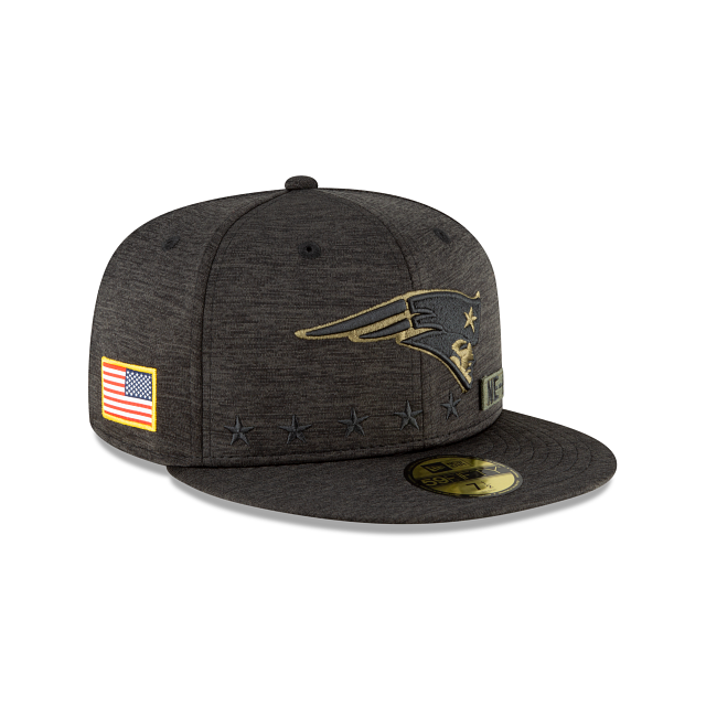 New England Patriots Salute To Service 59FIFTY Fitted | New England Patriots Hats | New Era Cap