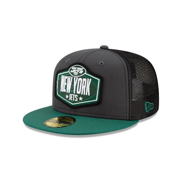 New York Jets NFL Draft 59FIFTY Fitted | New York Jets Hats | New Era Cap