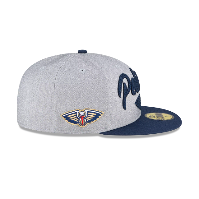 New Orleans Pelicans NBA Draft 59FIFTY Fitted | New Orleans Pelicans Hats | New Era Cap