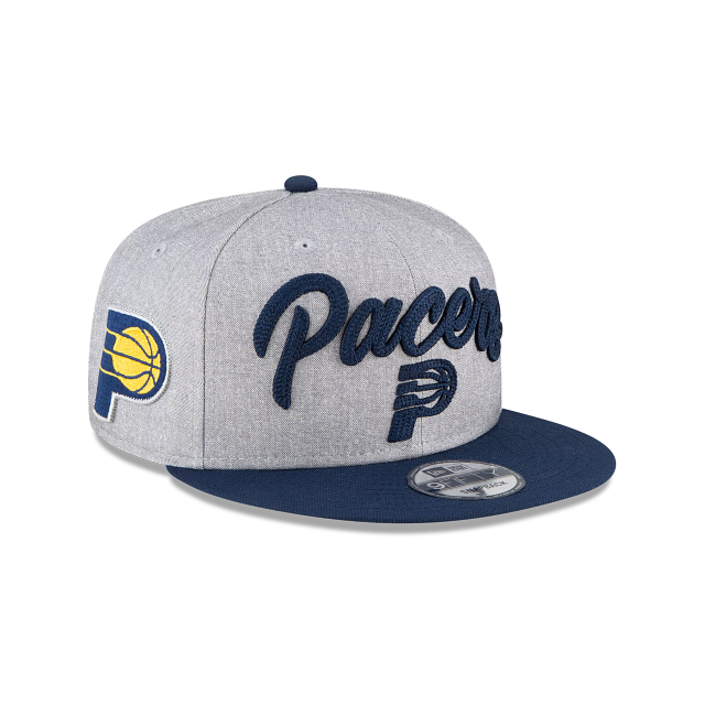 Indiana Pacers Official NBA Draft 9FIFTY Snapback | Indiana Pacers Hats | New Era Cap