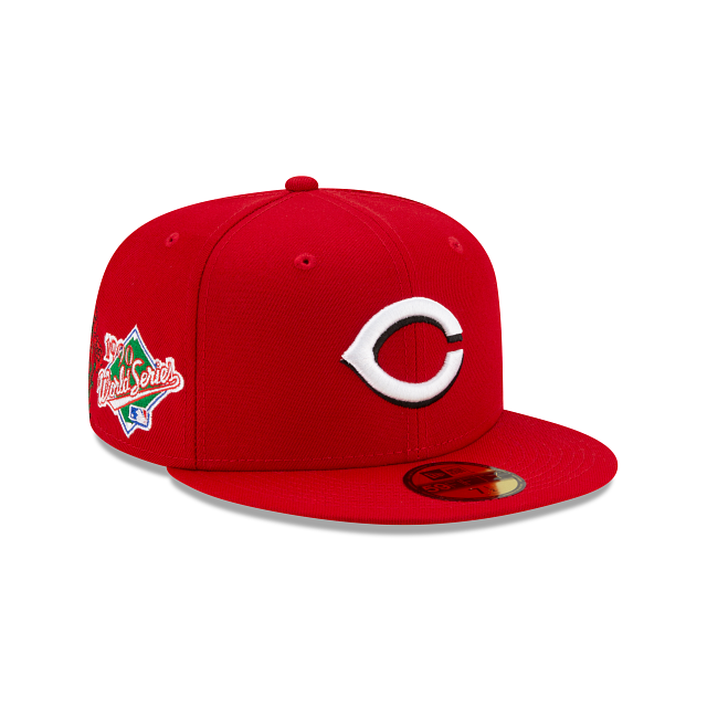 Cincinnati Reds State Flower 59FIFTY Fitted | Cincinnati Reds Hats | New Era Cap