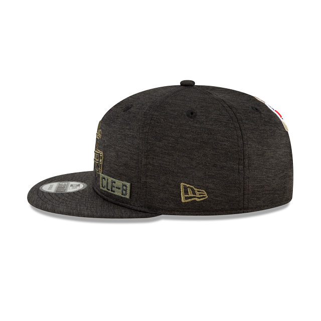 Cleveland Browns Salute To Service 9FIFTY Snapback | Cleveland Browns Hats | New Era Cap