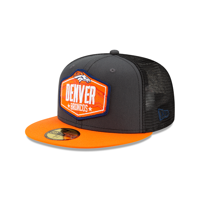 Denver Broncos NFL Draft 59FIFTY Fitted | Denver Broncos Hats | New Era Cap