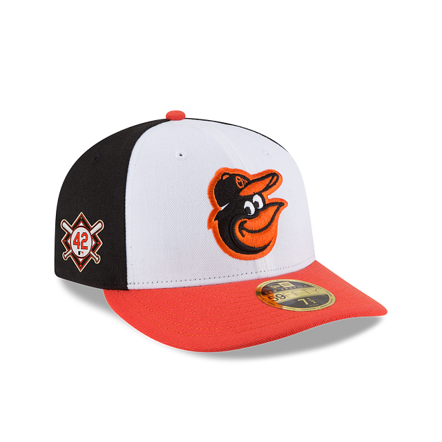 Baltimore Orioles Jackie Robinson Day Low Profile 59FIFTY Fitted | Baltimore Orioles Hats | New Era Cap