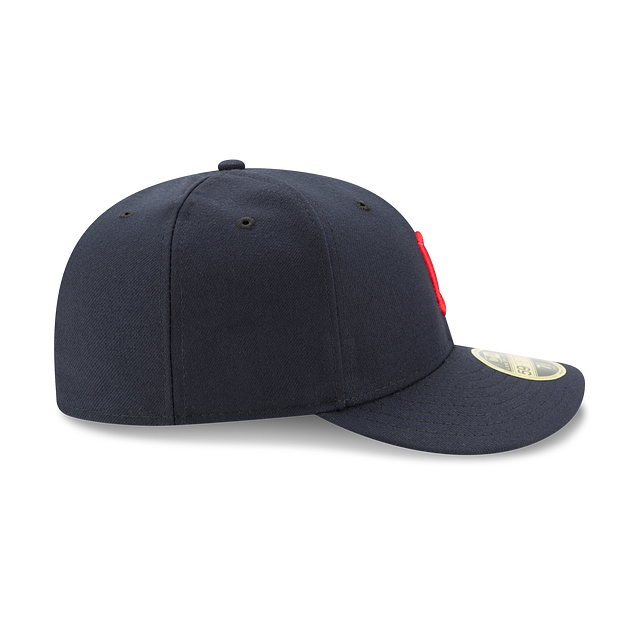 Cleveland Indians Authentic Collection Low Profile 59FIFTY | Cleveland Indians Hats | New Era Cap
