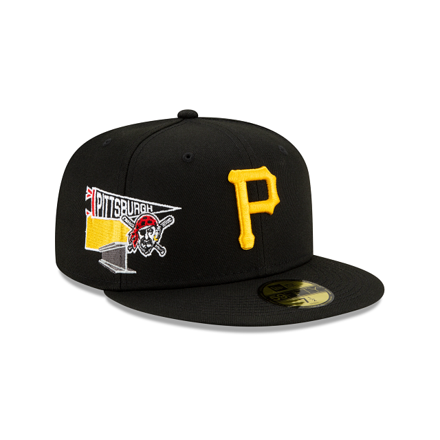 Pittsburgh Pirates City Patch 59FIFTY Fitted | Pittsburgh Pirates Hats | New Era Cap