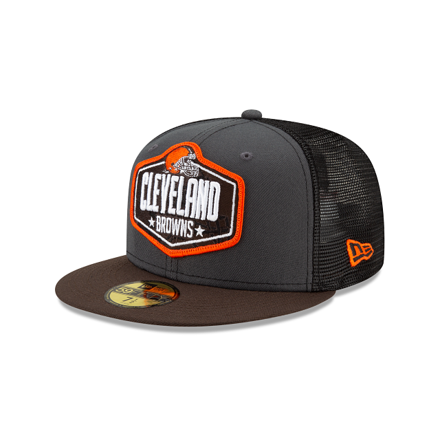 Cleveland Browns NFL Draft 59FIFTY Fitted | Cleveland Browns Hats | New Era Cap