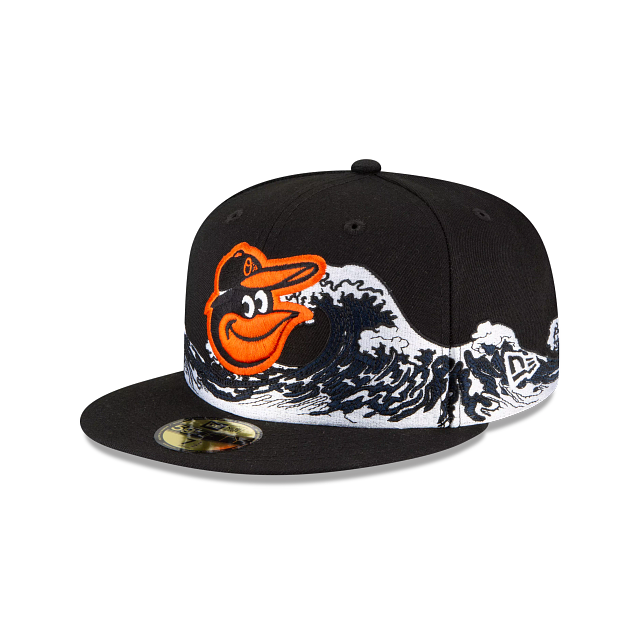 Baltimore Orioles Wave 59FIFTY Fitted | Baltimore Orioles Hats | New Era Cap