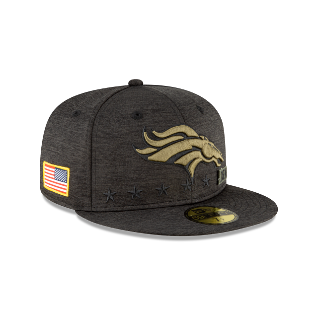 Denver Broncos Salute To Service 59FIFTY Fitted | Denver Broncos Hats | New Era Cap