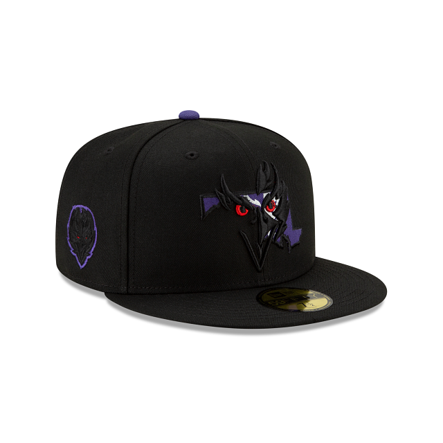 Baltimore Ravens State Logo Reflect 59FIFTY Fitted | Baltimore Ravens Hats | New Era Cap