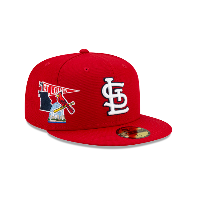 St. Louis Cardinals City Patch 59FIFTY Fitted | St. Louis Cardinals Hats | New Era Cap