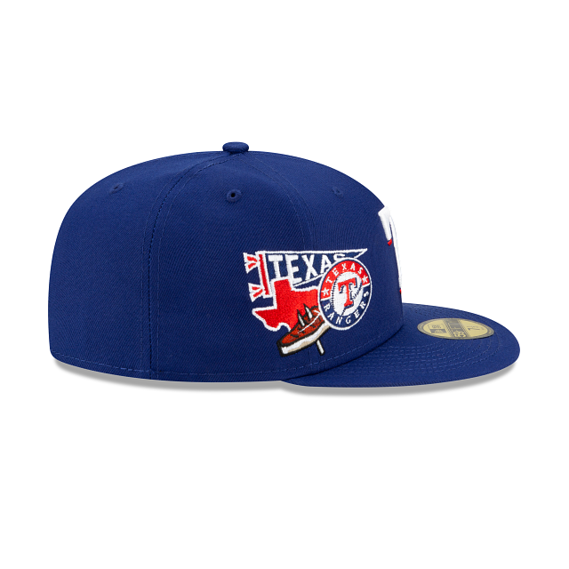 Texas Rangers City Patch 59FIFTY Fitted | Texas Rangers Hats | New Era Cap