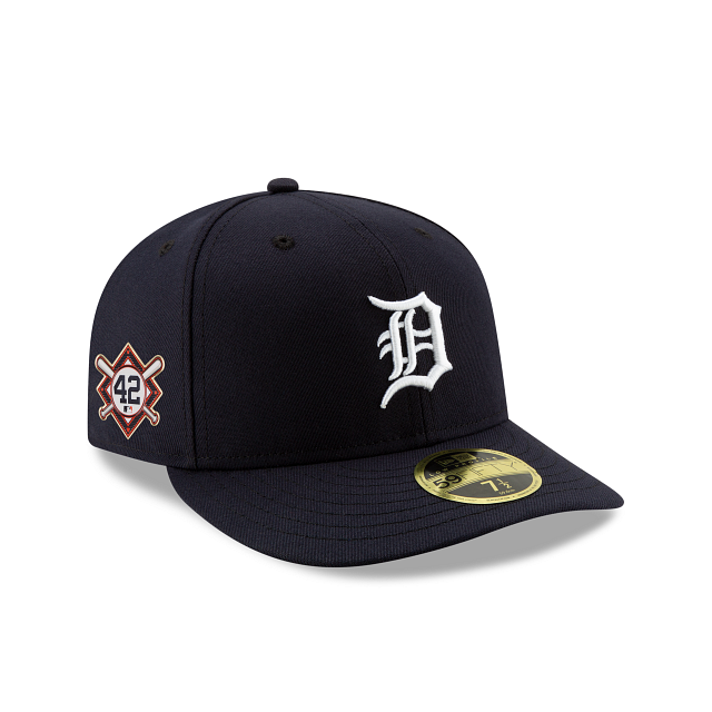 Detroit Tigers Jackie Robinson Day Low Profile 59FIFTY Fitted | Detroit Tigers Hats | New Era Cap
