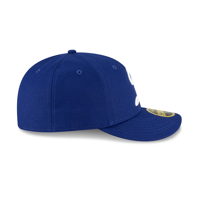 Los Angeles Dodgers Ligature Low Profile 59FIFTY Fittted | Los Angeles Dodgers Hats | New Era Cap