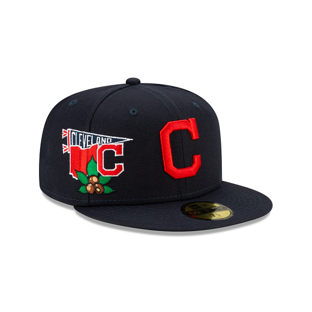 Cleveland Indians City Patch 59FIFTY Fitted | Cleveland Indians Hats | New Era Cap