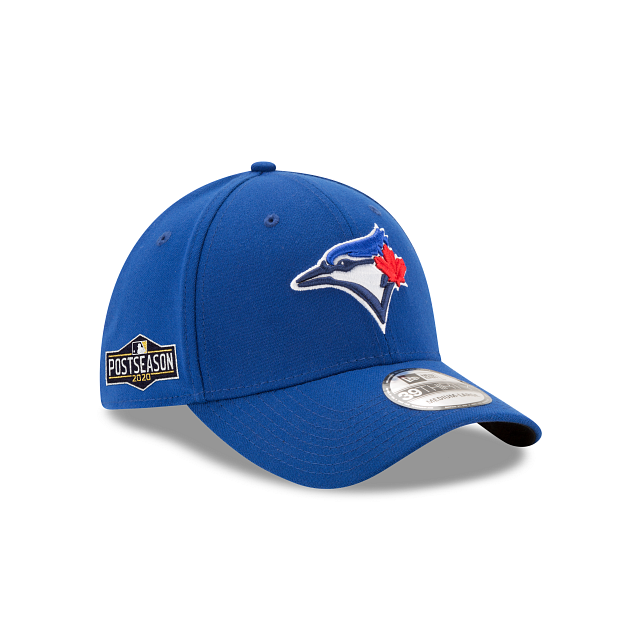 Toronto Blue Jays Postseason Side Patch 39THIRTY Stretch Fit | Toronto Blue Jays Hats | New Era Cap