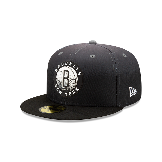 Brooklyn Nets Back HaLF 59FIFTY Fitted | Brooklyn Nets Hats | New Era Cap