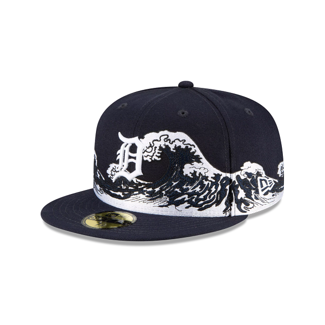 Detroit Tigers Wave 59FIFTY Fitted | Detroit Tigers Hats | New Era Cap