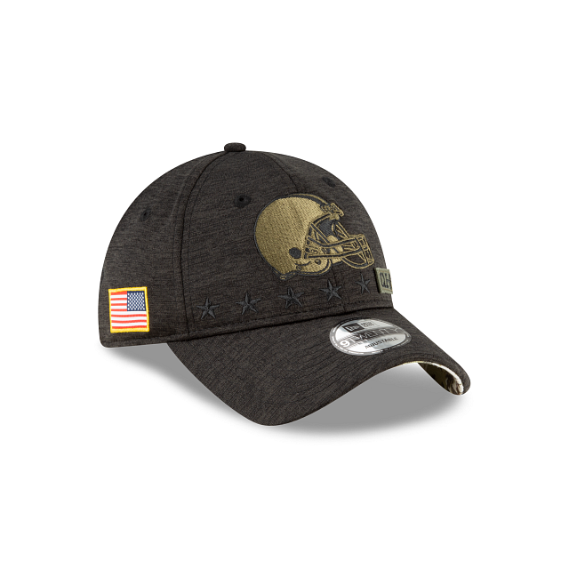 Cleveland Browns Salute To Service 9TWENTY Adjustable | Cleveland Browns Hats | New Era Cap