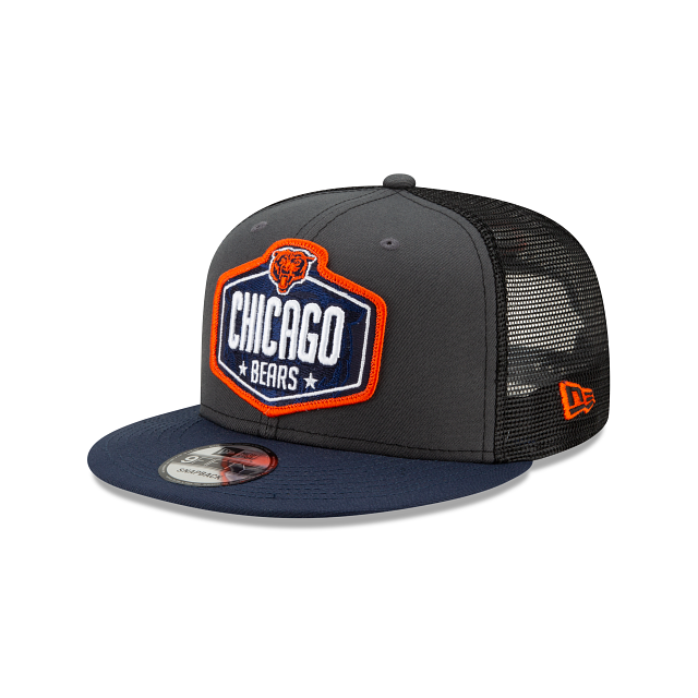 Chicago Bears NFL Draft 9FIFTY Snapback | Chicago Bears Hats | New Era Cap