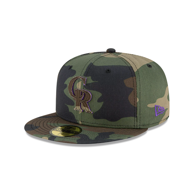 Colorado Rockies Forest Pop 59FIFTY Fitted | Colorado Rockies Hats | New Era Cap