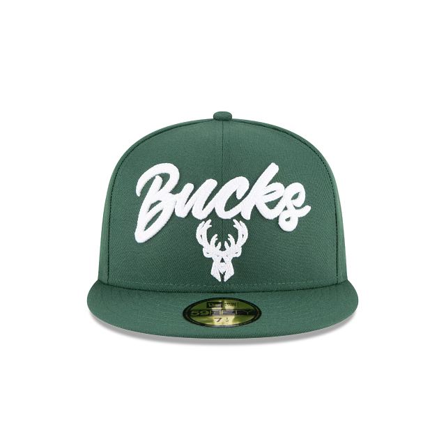 Milwaukee Bucks NBA Draft Alternate 59FIFTY Fitted | Milwaukee Bucks Hats | New Era Cap