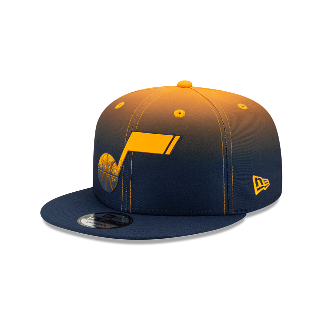 Utah Jazz Back HaLF 9FIFTY Snapback | Utah Jazz Hats | New Era Cap