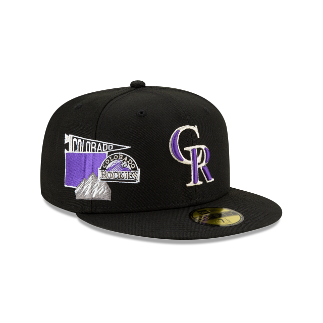 Colorado Rockies City Patch 59FIFTY Fitted | Colorado Rockies Hats | New Era Cap