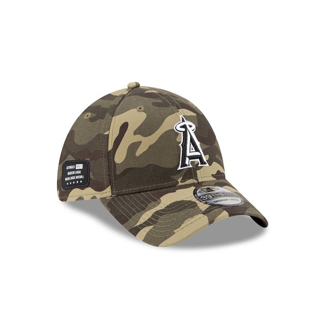 Los Angeles Angels Armed Forces Weekend 39THIRTY Stretch Fit | Los Angeles Angels Hats | New Era Cap