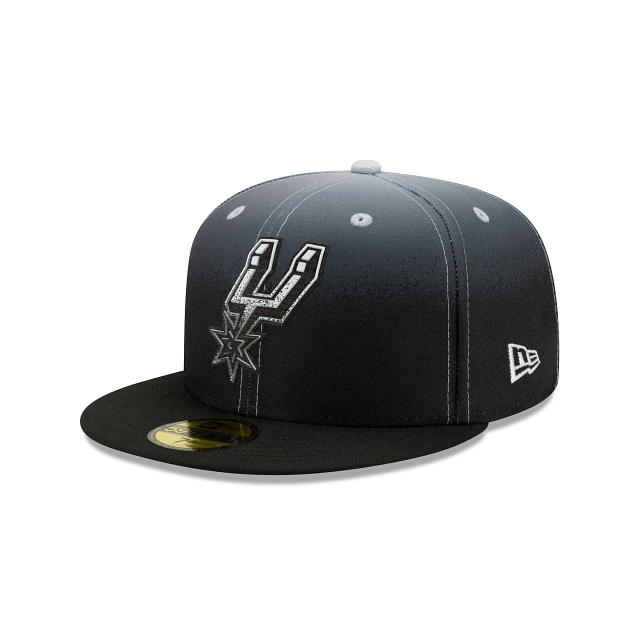 San Antonio Spurs Back HaLF 59FIFTY Fitted | San Antonio Spurs Hats | New Era Cap