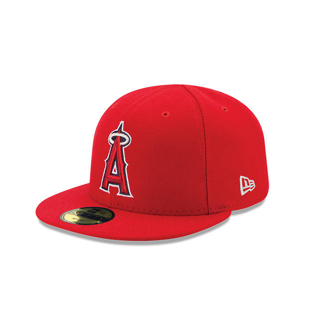 Los Angeles Angels My First Authentic Collection Kids 59FIFTY Fitted | Los Angeles Angels Hats | New Era Cap